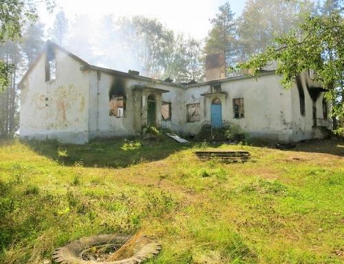 Karjalassa tuli tuhoaa vanhoja kouluja
