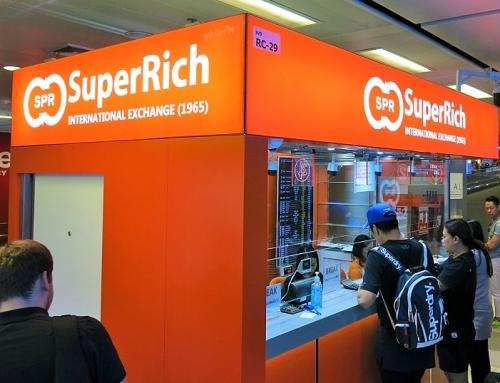Bangkok – rahanvaihto ja nukkuminen Suvarnabhumin lentokentällä