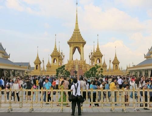 Bangkok – viimeiset hyvästit Rama 9:lle