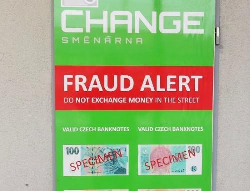 Varoitus: Näin Prahassa huijataan valuutanvaihtajia