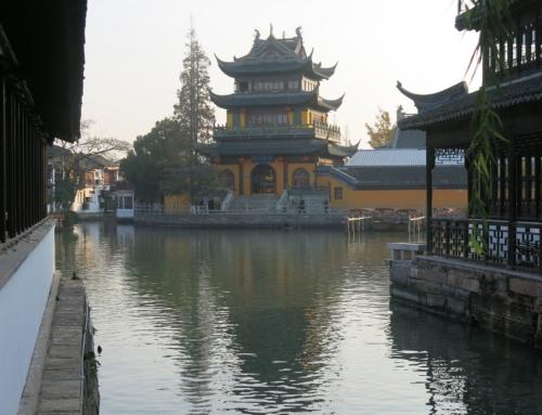 Shanghaita tutkimassa